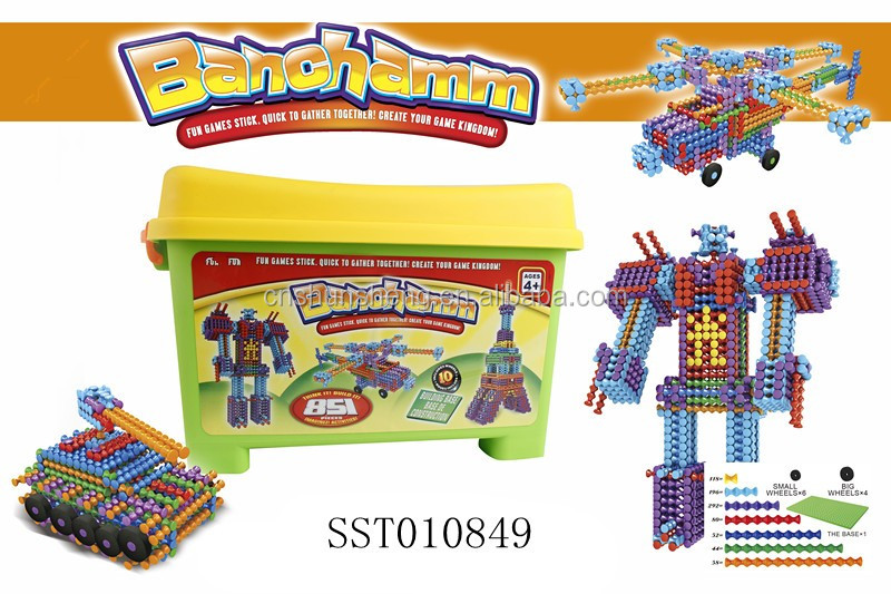 CHILDREN DIY GAME 174 PCS BUILDING BLOCKS