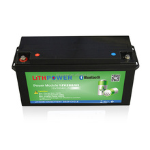 new product Bluetooth APP control 12v 200ah lithium ion lifepo4 battery for golf cart/boat/solar system