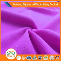 waterproof polyester tricot lining fabric jersey knit fabric for sportswear