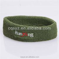 2015 comfortable cotton sport elastic headbands for men