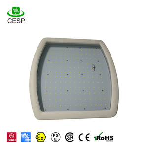 IP68 UL DLC 40w led canopy light for gas station