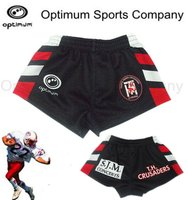 sublimated polyester/spandex cool dry without colour or design limited Small boy rugby football short