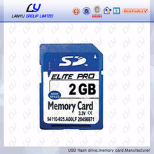 hot seller sd memory card 2GB to 64GB memory card for camera sd card