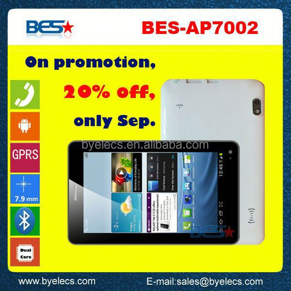 "top sale size 7"" supplier wholesale low price phone call tablet pc"