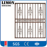 2016 latest simple iron window grills design for house windows