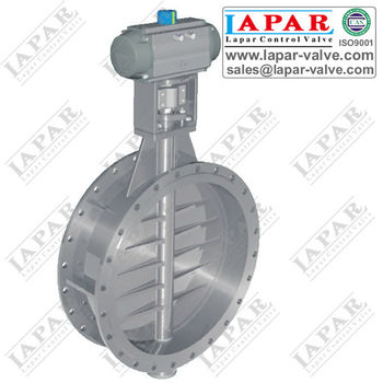 LPB17 High Temperature Butterfly Valve for Dusty Gas