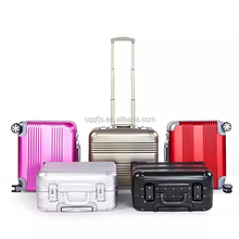 Business Suitcase 18 21 25 Inch Aluminum Luggage Trolley Case