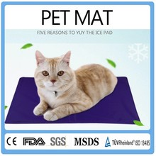 Alibaba Top Items Pet Products Cute Cooling Waterproof Reusable Gel Heated Pet Bed/Pet Mat