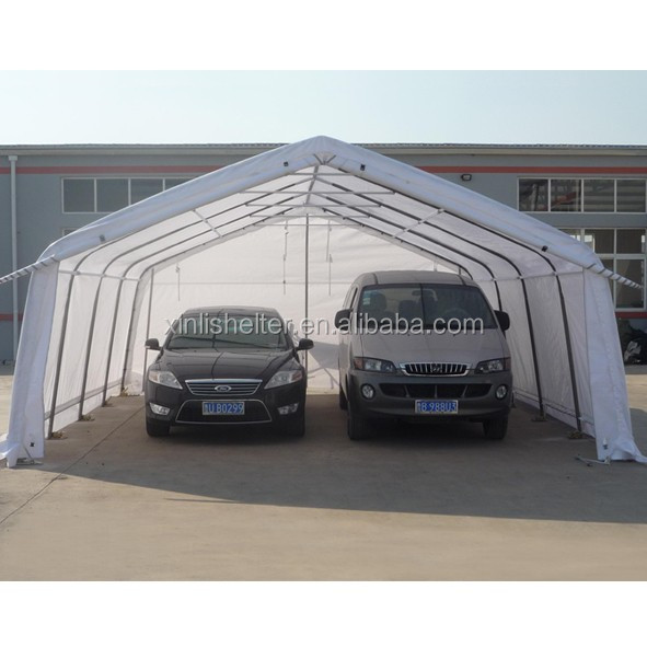Canvas Car Garage : Outdoor pvc canvas two car garage shed shelter buy high