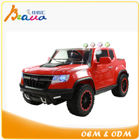 Latest Licensed 12V Battery Dual motor Powered 4X4 Chevy Ride-On Truck for Kids
