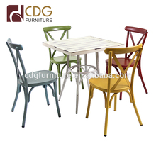 Factory price wholesale stacking banquet chairs outdoor party wedding waiting stack chairs sets