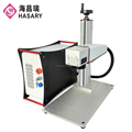 Super march discount 300x300mm mini fiber laser marking machine knife marker