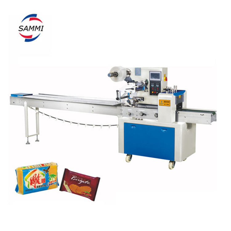 High Quality Lollipop/bread/candy Pillow Packaging Machine