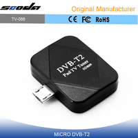 digital satellite usb tv tuner use on Phone/Pad also support DVB-T DVB-T2