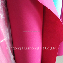 Hot selling good price needle punched colorful polyester felt roll