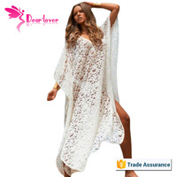 Accept paypal White Floral Lace Butterfly Dress xxl six sexy beach wear 2015