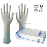 Good quality latex medical examination gloves,dental latex gloves,latex working glove