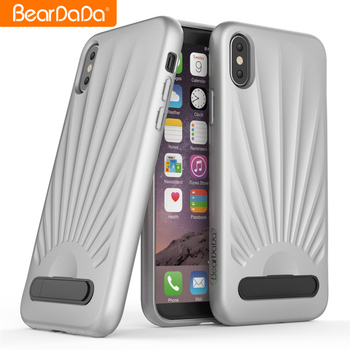 Popular Style tpu kickstand cellphone cases for iphone x