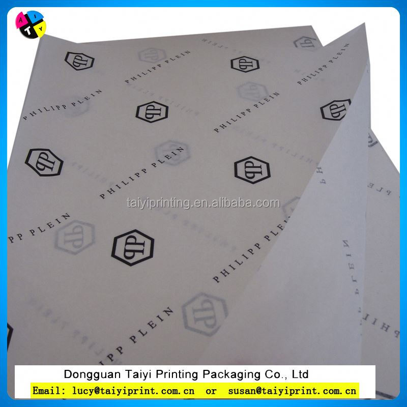 Promation! Tissue paper roll print your logo tissue wrapping paper
