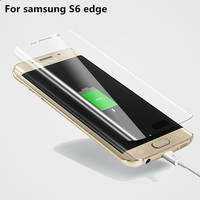 2015 New product Full Coverage Curved Edge TPU screen protector for samsung galaxy s6 edge screen film