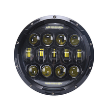 7'' led head light for jeep wrangler lamp led headlight 75w car led head light