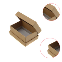 Useful corrugated box kraft small recycled brown packaging kraft paper box