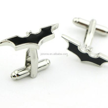 BATMAN Cuff Links Black Silver Super Hero Cufflinks FOR Wedding Groom Dad Bridal