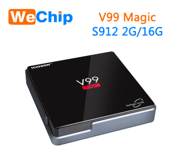 2017 Latest Amlogic S912 V99 Magic Android 6.0 Tv Box 2g RAM 16GB Emmc Smart KODI TV box