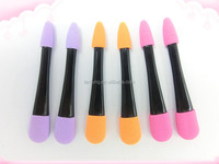 Compact eyeshadow sponge & brush applicator / Colorful eye shadow sponge