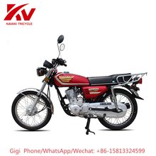 Guangzhou manufacturer export Africa Sudan CG125 two wheel custom engine motorcycle 125cc