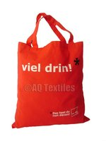 ORGANIC 100% Cotton AZO free Shopping Bag