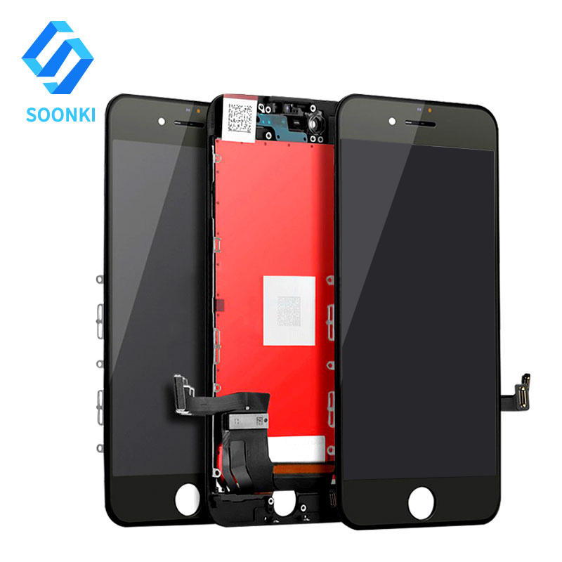 Mini Order Mobile Repair Parts, LCD Digitizer Assembly for <strong>IPhone</strong> 7, Replacement Screen for <strong>Iphone</strong> 7 Display White Black