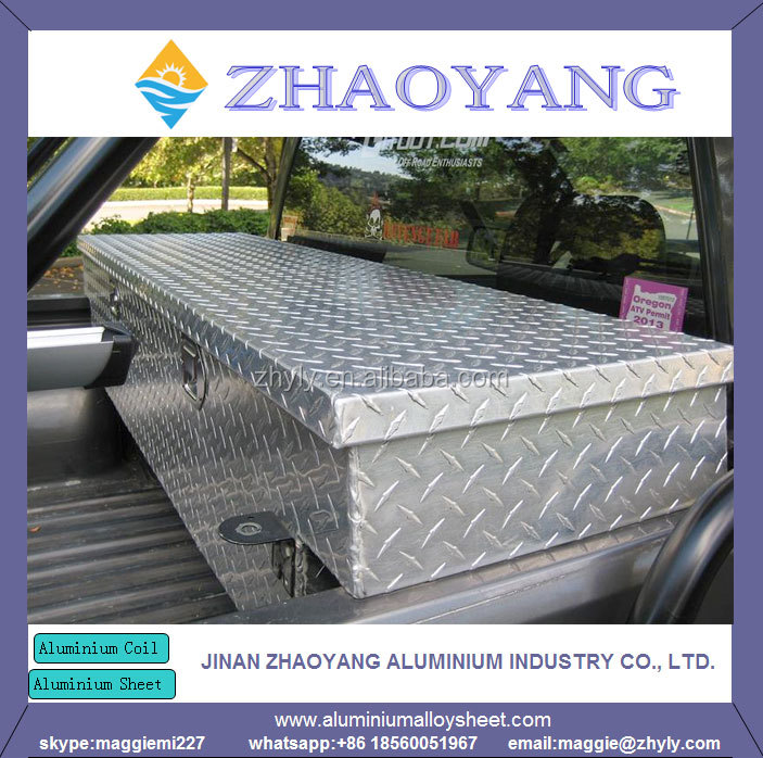 High quality Aluminum checkered plate tool box checkered plate