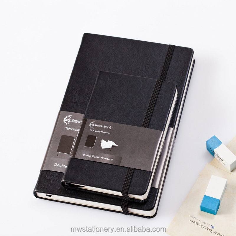 personalized Daily planner 2016 diary pu leather cover