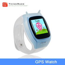 kids gps watch touch screen mobile phone real tracking online sos for help