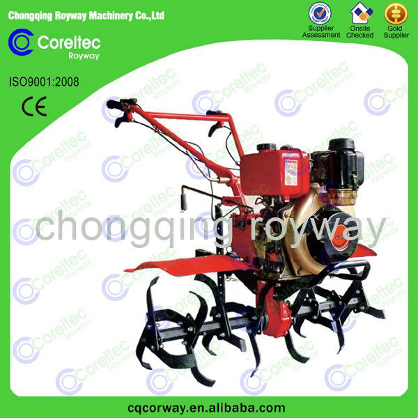 Agricultural recoil start hand push cultivator price