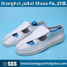 Dust-free cleanroom esd shoes antistatic safety work boot anti-static shoes pvc/pu sole working shoe