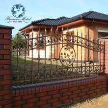 cheap wrought iron latest main gate designs staircase railings metal double doors exterior
