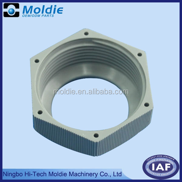 Precision plastic injection nut product