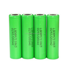 CHEM INR 18650 MJ1 10A 3.6V 3500mAh RECHARGEABLE FLAT TOP BATTERIES