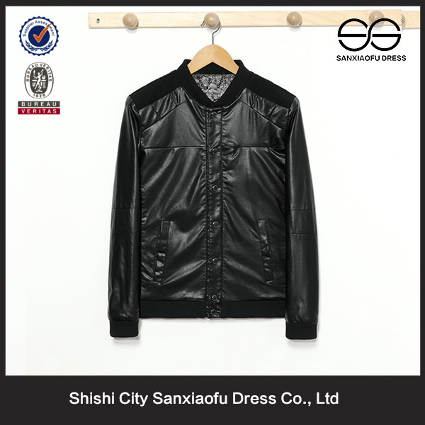 New Leather Jacket Design For Men, Wholesale Fashion Custom Wear