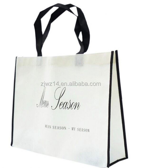 cheap fashion printing non woven bag for shopping/ promotional/ 2011 summer non-woven bag