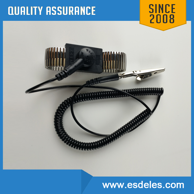 Customization available anti static metal wrist strap clean room wrist strap