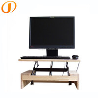 2016 New stylish eyesight protect cheap wood sit stand desk