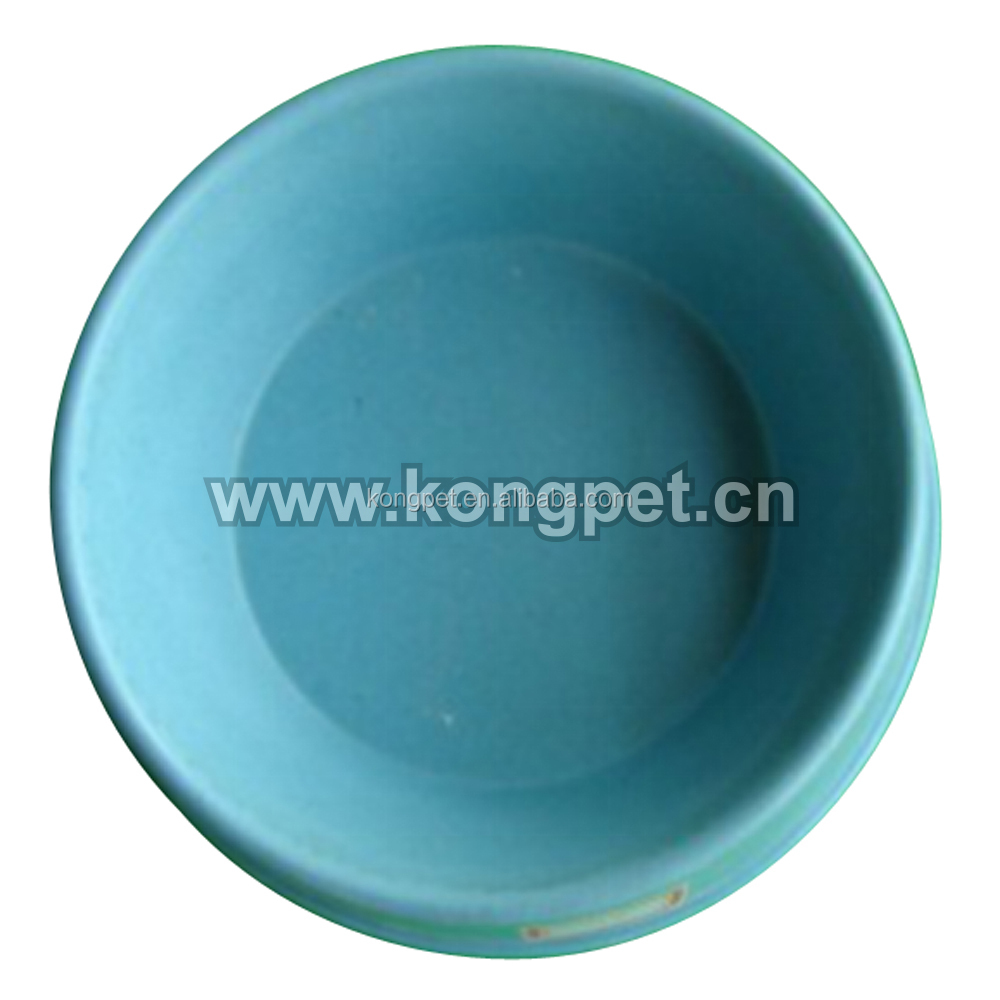 2016Fashionable Durable High Quality Bamboo Fiber Pet Supply Bowl FS025