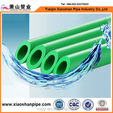 DIN standard plastic water supply piping system green s3.2 ppr plumb pipe