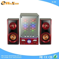 Supply all kinds of speaker bag,wireless speaker box,2.1 remote control multimedia speaker with usb