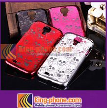 mobile phone accessories skull pattern hard case for Samsung galaxy S4 i9500