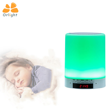 Smart Bluetooth Control Child Night Desk Light Disco Speaker Colorful Led Table Bluetooth Lamp
