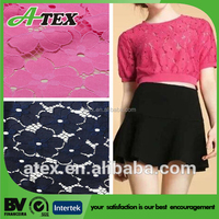 N/C:40/60% jacquard lace fabric, cotton polyester fabric (AT158516)